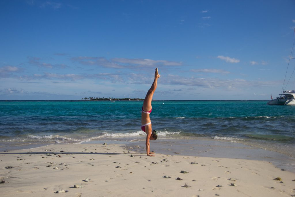 And the obligatory handstand picture