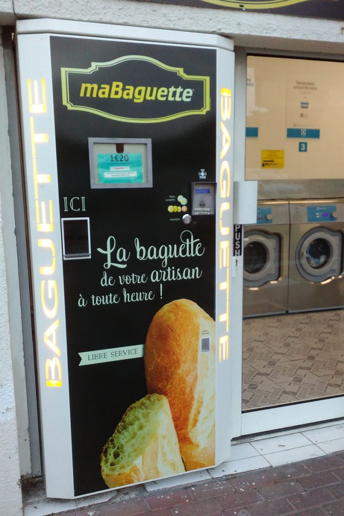 One of the good things of french islands - a 24/7 baguette vending machine