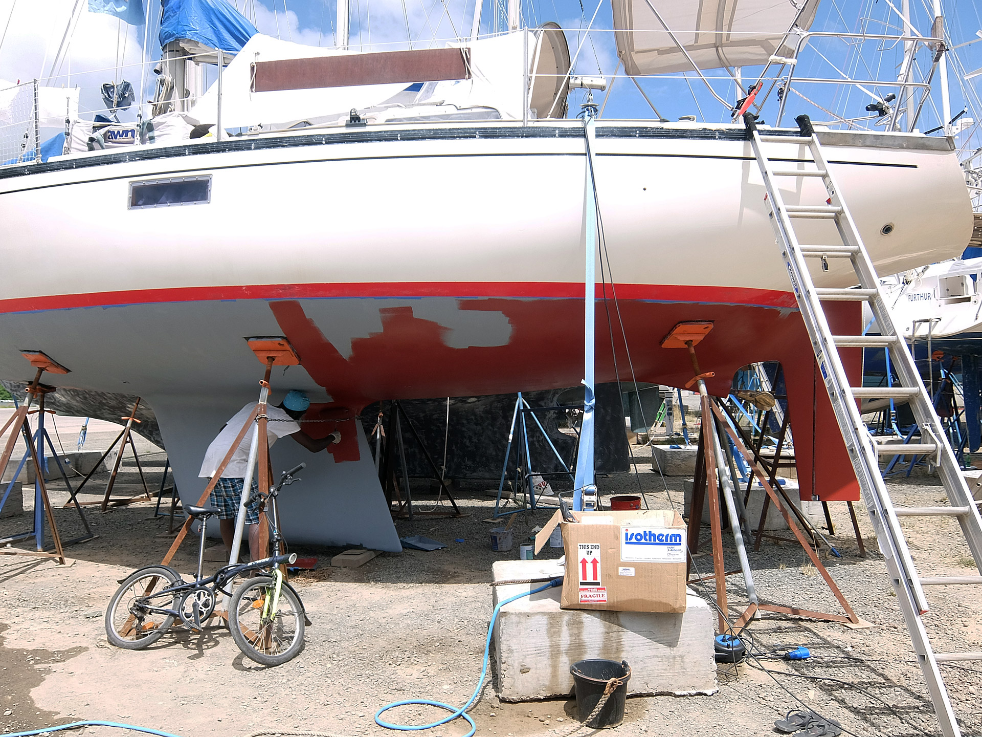 Mila's new antifouling